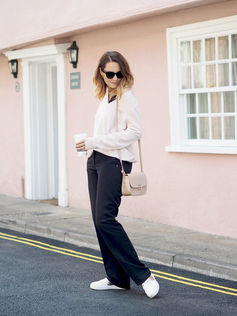 factory authentic amazing price wholesale online Blogger @bangonstyle wearing Wallis Black Bootcut Trousers ...
