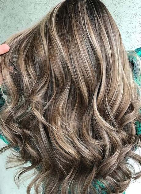 Highlight Transition Into Balayage 2019 Brown Hair With Blonde