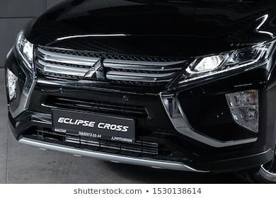 Novosibirsk Russia October 04 2019 Mitsubishi Eclipse Cross Close Up Of The Headlight Bumper Wheel Photograp In 2020 Novosibirsk Mitsubishi Mitsubishi Eclipse