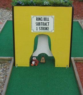 Homemade Obstacles For A Mini Golf Course Google Search Miniature Golf Golf Courses Putt Putt Golf