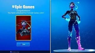 New Female Galaxy Skin Gameplay Fortnite Battle Royale Female Galaxy Skin Unlocked Skins Characters Funny Text Memes Gaming Wallpapers