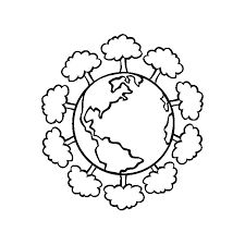 online earth day coloring pages Occupation Pinterest Earth