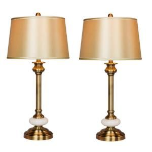 The Home Depot Logo Table Lamp Candlestick Table Lamp
