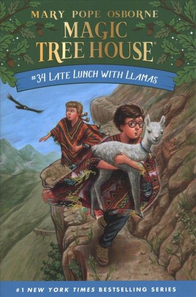 Late Lunch With Llamas Magic Tree House Books Magic Treehouse Tree House