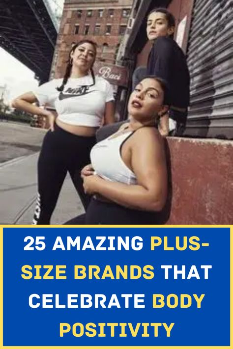 These days, size is not really something that matters anymore. You can wear whatever you want and be your own brand of beauty. You don't even need to worry about finding the clothes that will fit your size because these 25 clothing brands got your back! Basic Wear, Plus Size Brands, Sports Skirts, Addition Elle, Viral Trend, Athleisure Outfits, Kinds Of Clothes, Strike A Pose, Active Wear For Women