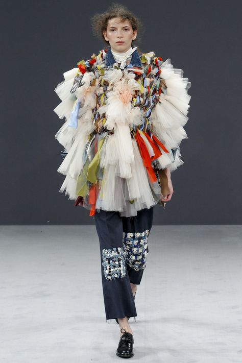 It's no secret how contrary we are in The Kingdom.So on the hottest day of  the year, I'm going to show you some parkas.  Not just any old parkas. Parkas to make your heart beat faster. Parkas that  will break your heart because you will never own one of these haute couture  creations  Damm