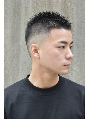 2019年春 メンズ ボウズの髪型 ヘアアレンジ 人気順