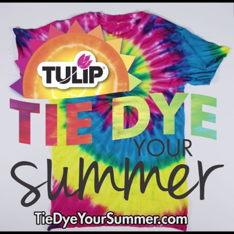 Simple One-Step Spiral Tie Dye