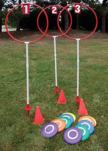 Disc Golf Sets Fixed Height Outdoor - - Disc Golf Target Set (corporate picnic games) Diy Yard Games, Diy Games, Backyard Games, Outdoor Games, Relay Games, Backyard Kids, Outdoor Toys, Outdoor Activities, Disc Golf Game
