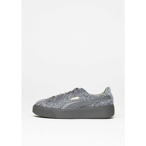 Puma Schuh Suede Platform Elemental steel greysteel grey
