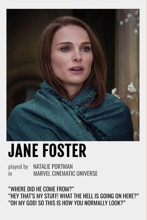 Jane Foster Polaroid Poster