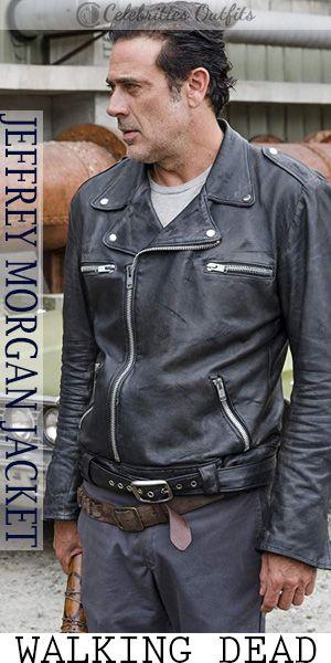 164c47911 Walking Dead Jeffrey Dean Morgan Negan Black Jacket in 2019 ...