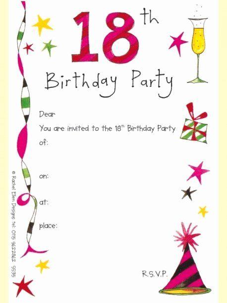 18th Birthday Party Invitations Harlem Printable Invitations Free Printable Birthday Invitations Birthday Party Invitations Printable Party Invite Template