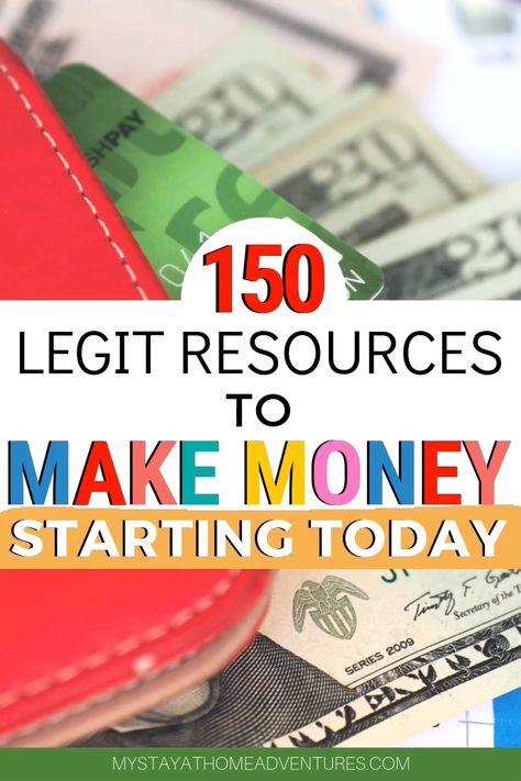 Legit Resources to Make Money
