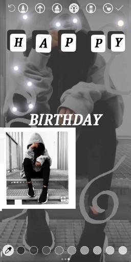 Birthday Instagram Story ideas