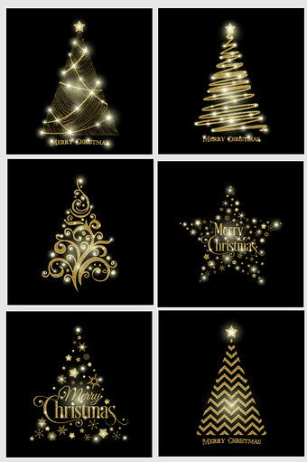 Golden Christmas Tree Light Effect Vector Png Images Ai Free Download Pikbest Christmas Tree Lighting Tree Lighting Christmas Tree