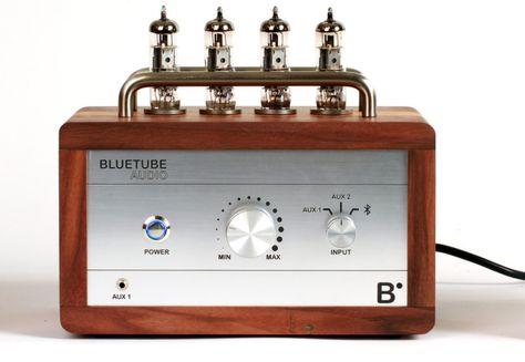 BlueTube (Audio Vacuum Tube Amplifier)