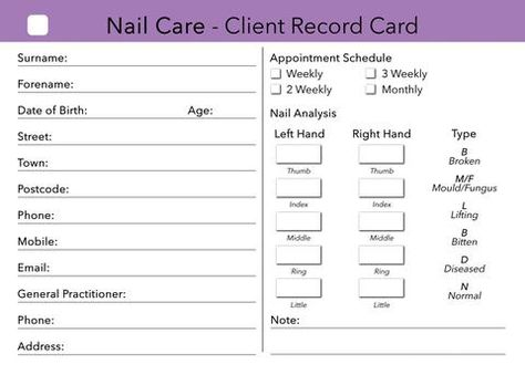 nail-technician-client-record-card-template (1) \u2026 The someday