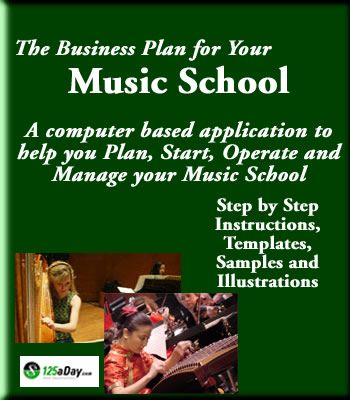 music school business plan