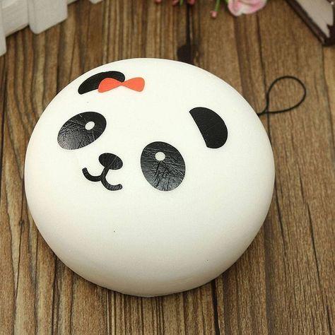 Panda Cell Phone Bag -  Easy Rock Painting Ideas For Fun   Childern   Kids   Art   #rock #painting #paintart #fun