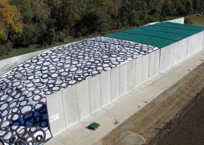 Bunker Walls Hanson Silo Company In 2020 Silos Precast Concrete Bunker