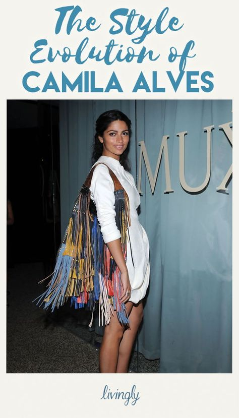As a model, designer and Matthew McConaughey's girlfriend, it's no surprise Camila Alves knows her way around the red carpet. From flirty daytime frocks to opulent evening gowns, check out Camila's elegant style evolution.