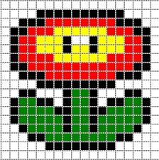 Diy Schémas Des Motifs Mario Bros Perler Beads Beads
