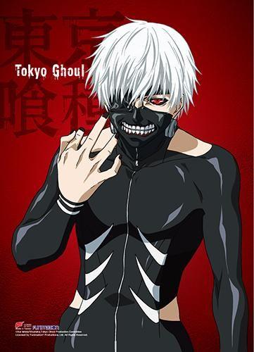 Tokyo Ghoul - Kaneki Fabric Poster [PreOrders SoldOUT]