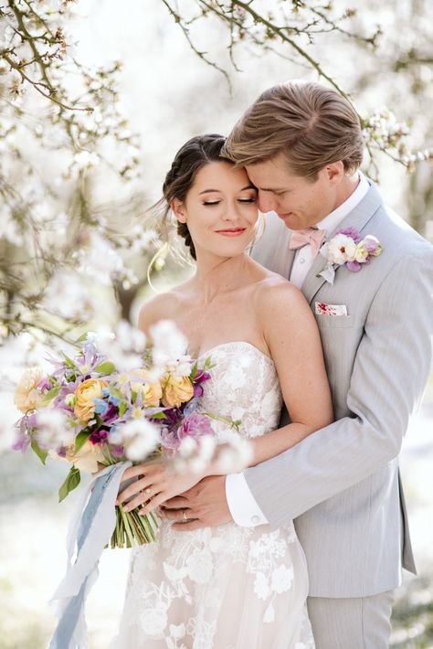 Whimsical Almond Orchard Blossom Wedding Inspiration – Playful Soul Photography 36  Blossoming orchards are the perfect backdrop for a nature-filled outdoor celebration.  #bridalmusings #bmloves #wedding #weddinginspo #weddinginspiration #blossom #orchard #outdoorwedding