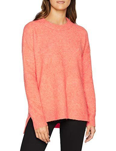 damen pullover esprit damen pullover 118ee1i004 orange  red orange 825  small  esprit damen pullover 118ee1i004 orange