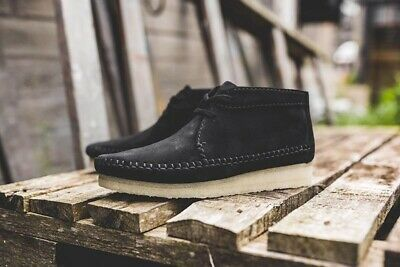textura Facultad Preceder  Details about Clarks Weaver Boot Black Suede Size 9.5M in 2020   Suede  chukka boots, Black suede chelsea boots, Black suede boots