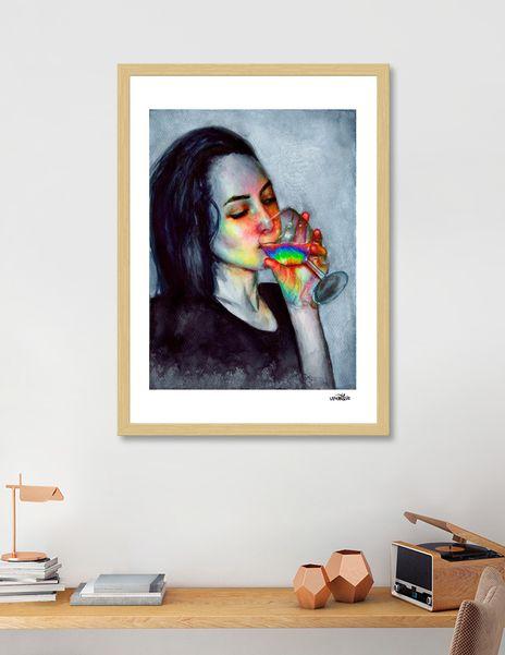 Confidence Art Print By Olesya Umantsiva Limited Edition From 29 9 Curioos Art Art Prints Giclee Art Print