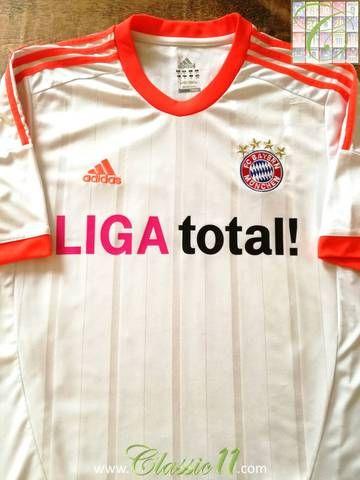 wholesale dealer 62950 45770 Official Adidas Bayern Munich away football shirt from the ...