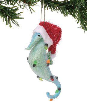 Coastal Christmas Cheer Zulily Hanging Ornaments Christmas Ornaments Coastal Christmas