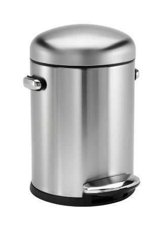 Poubelle A Pedale Simplehuman Retro 4 5 L In 2020 Trash Can