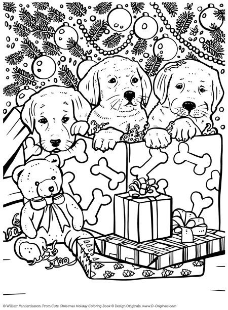 22 Christmas Coloring Books To Set The Holiday Mood Puppy Coloring Pages Holiday Coloring Book Christmas Coloring Sheets