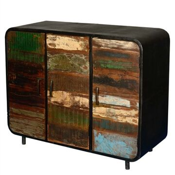 Buffets Sideboards Sierra Living Concepts Modern Rustic Furniture Wood Storage Cabinets Reclaimed Wood