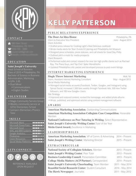 Unique Resume u2014 InDesign INDD #modern #cs3 u2022 Available here - social researcher sample resume