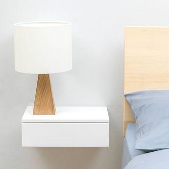 Floating Bedside Drawer Nachttisch Schublade Inneneinrichtung
