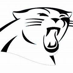 Carolina Panthers Printable Logo Carolina Panthers Logo Carolina Panthers Panther Logo