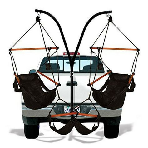 Trailer Hitch Chair Combo Deranged Gifts Hammock Chair Hammock Chair Stand Hammock Swing Chair