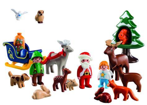 5497 Pack Navidad en el Bosque Playmobil Calendario de Adviento