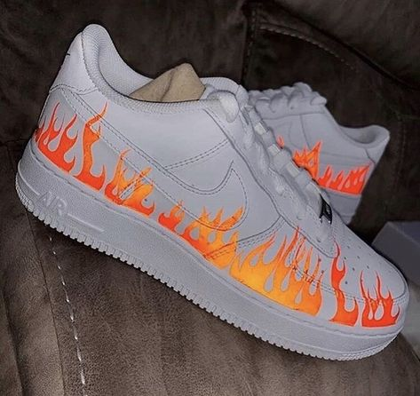 Flaming Air Force 1s