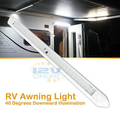 Sponsored Ebay 12 Volt Led Lights Rv Motorhome Porch Awning Camping Strip Light Fxitures 22inch In 2020 Awning Lights Porch Awning Led Lights