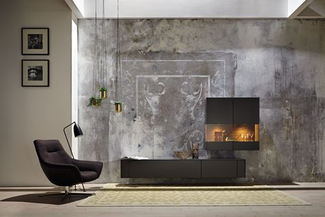 Livingroom Huelsta Hulsta Laquer Furniture Glasscabinet