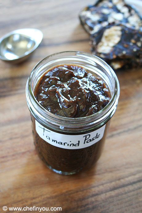 How To Store Homemade Tamarind Paste Making Tamarind Pulp Using Dried Tamarind Tamarind Paste Recipes Tamarind Paste Paste Recipe