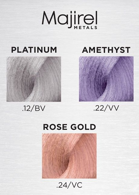 Majirel Metals How To L Oreal Professionnel For Hairdressers Hair Color Professional Hair Color Loreal
