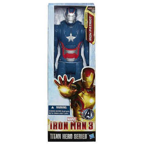 Iron Patriot Titan Heroes Action Figure Hasbro IRON MAN