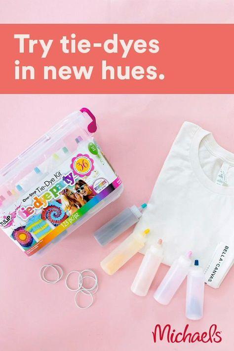 Tulip® Tie-Dye Party™ One-Step Tie-Dye Kit® at Michaels