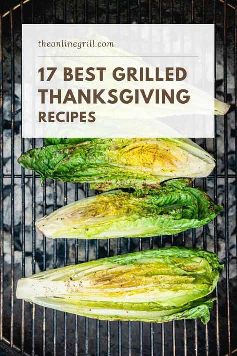 Check out this list of the very best thanksgiving grilling recipes for your holiday cooking. Grilled turkey, grilled apple pies, grilled vegetables. It's all here for your holiday cooking! #thanksgiving #recipes #grilling #bbq
